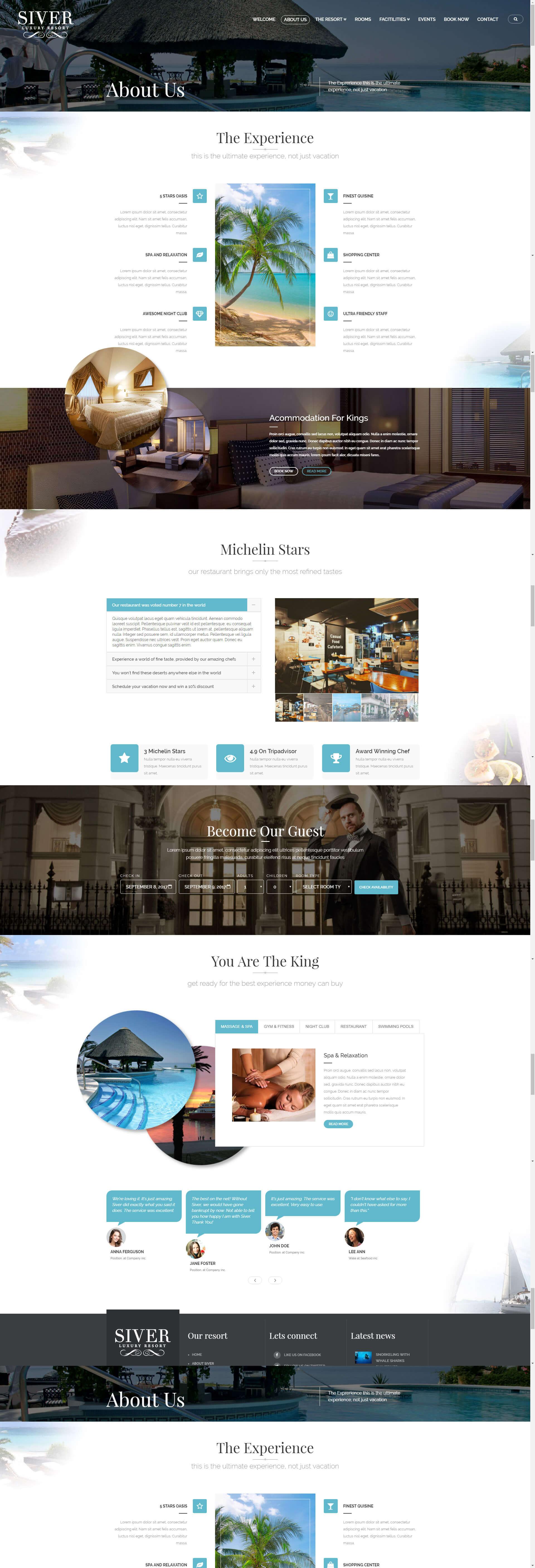 thiết kế website resort sapa nho