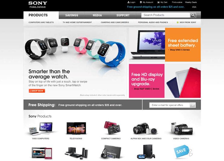 Tránh lạm dụng banner flash khi thiết kế trang web bán hàng