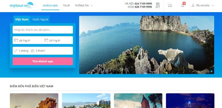 web du lịch mytour.vn