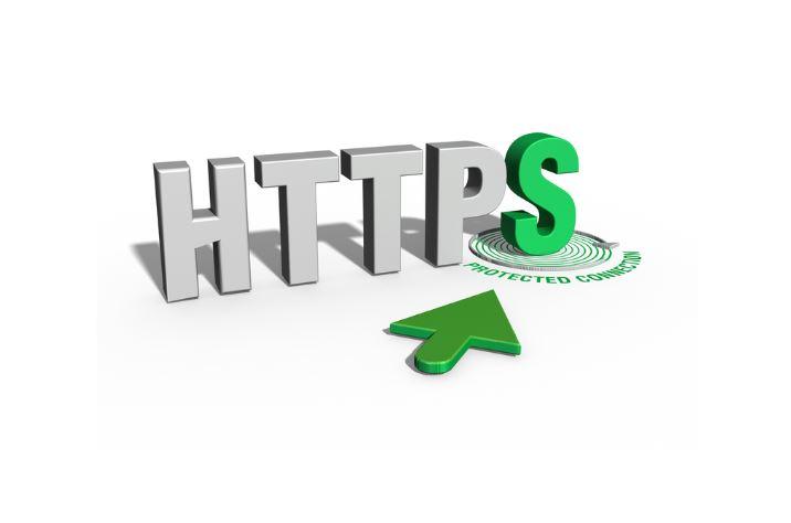 HTTPS trong thiết kế web.