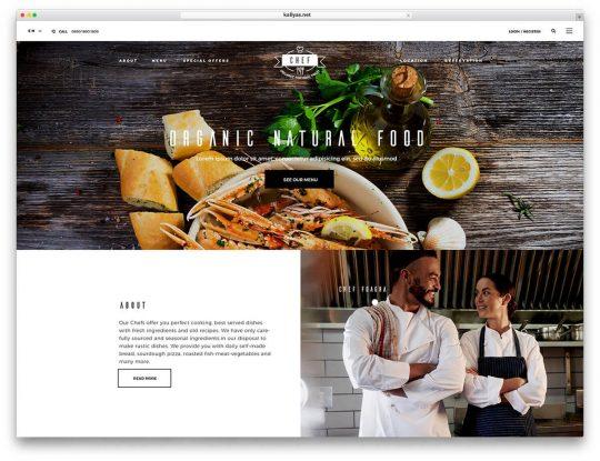 nội dưng cho website nhà hàng